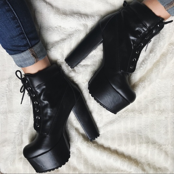 0b4c90dcb Current Mood Shoes - Current Mood Stay Dark Prophecy Platform Boots